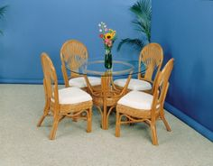 Discount Liberty 7 Piece Dining Set in Natural Stain - Stix 'N' Things