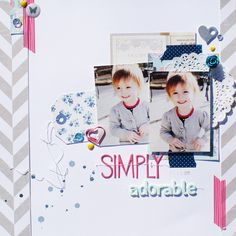 Simply Adorable - Scrapbook.com