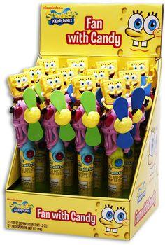 Spongebob Candy Fan (Display)