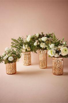Blushed Mercury Vases from BHLDN