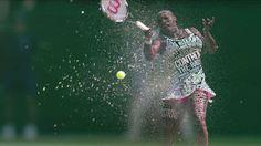 BBC Wimbledon 2012 Promo 테니스계의 탑 플레이어들이 텍스트로 변하는 모습을 보여준다. 텍스트의 내용은 각 선수들의 플레이 스타일과 성격 등이라고. 윔블던 중계를 하는 BBC가 이런 스타일의 광고를 하는 함의는? 중계보면서 트윗 많이 날리라고!가 아닐까?