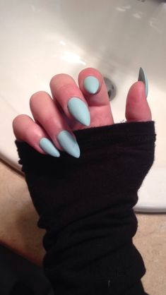 stiletto nails fake nails matte nails blue press on nails nagelschere n gel muster und. Black Bedroom Furniture Sets. Home Design Ideas