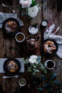 Brioches roulées au sésame et chocolat   Carnets Parisiens
