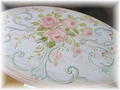 nice painted table top