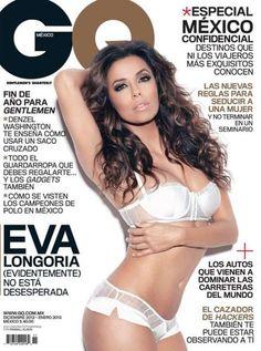 Eva Longoria - GQ Magazine Cover [Mexico] (December 2012)