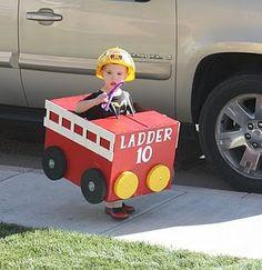 Firetruck Halloween costume