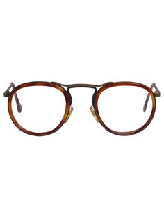 Vintage Le Club Optique Tortoise Shell/Metal Eyeglasses