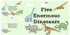 This sing-along PowerPoint will make a great addition to your counting lessons! Encourage your children to sing along to help with their number recognition skills. Dinosaurs Eyfs, Dinosaur Songs, Counting Songs, Number Recognition, Singing, Encouragement, Language, Hero, Comics