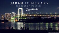 Japan Two Week Itinerary - Nerd Nomads