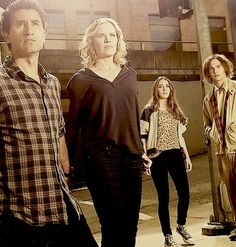 Travis, Madison, Alicia and Nick ~ Fear The Walking Dead. August 23rd at 9:00pm on AMC