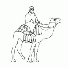 Free Animals Camel Printable Coloring Pages For Child