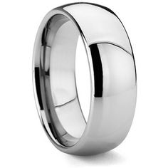 105e8a5357 $12.99 - 8MM Men's Solid and Shiny Tungsten Ring Men Rings, Men's Jewelry,  Bridesmaid