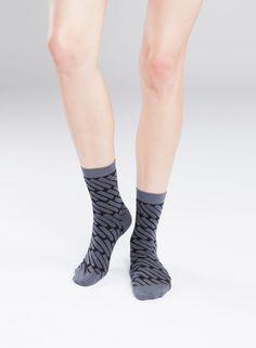 Marca-sukat (t.harmaa, musta) |Asusteet, Sukat ja sukkahousut, Laukut & asusteet | Marimekko