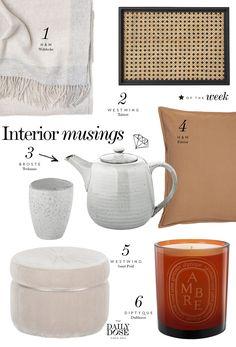 Wishlist: Interior Pieces für den Herbst - The Daily Dose Broste Copenhagen, H&m Home, Cozy Blankets, Tea Cups, Food And Drink, Make It Yourself, Tableware, Interior, Design