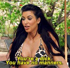 Kim Kardashian  Quote - haha