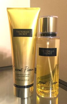 VICTORIA'S SECRET Coconut Passion Lotion & Body Mist Set **2015 Edition** #VictoriasSecret