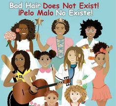 Bad Hair Does Not Exist! By Sulma Arzu-Brown - 17 Afro-Latino Children's Books to Read to Your Kids