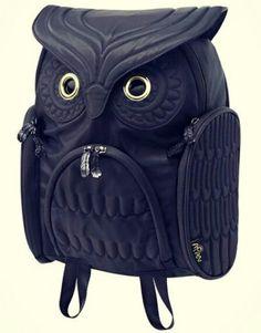 Búho Increíble,es un mochila con mucho de que decir muy creativa!!