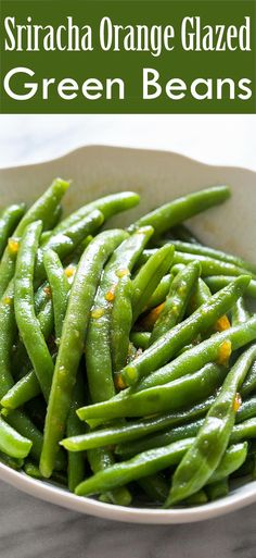 Quick and easy green bean side dish! Green beans boiled and tossed with spicy…