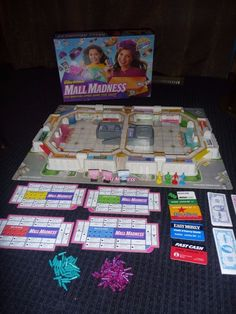 1996 Mall Madness Electronic Board Game Milton Bradley Tested! Works! #MiltonBradley