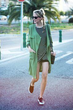 Striped dress   DearDiary-fashion #kissmylook