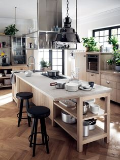 Fitted kitchen DIESEL SOCIAL KITCHEN - @scavolini