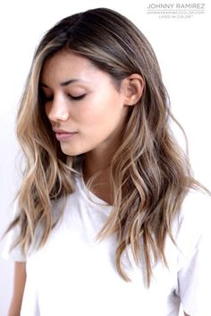 Hair Color by Johnny Ramirez - Thinking about this when I get out to LA this…