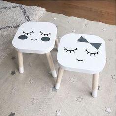 Relooking et décoration   Image   Description   design mommo: IKEA STOOLS HACKS