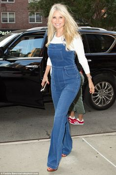 What's her secret? Christie Brinkley looked youthful as ever as she stepped out in New Yor...