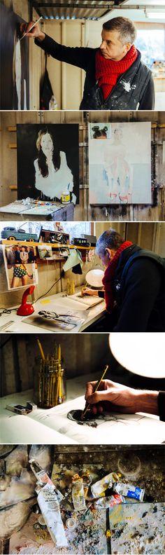 Inside The Studio: Christopher Stacey http://magazine.saatchiart.com/articles/artnews/saatchi-art-news/inside-the-studio-saatchi-art-news/christopher-stacey
