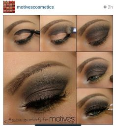 Love this smokey eye. I am going to try it