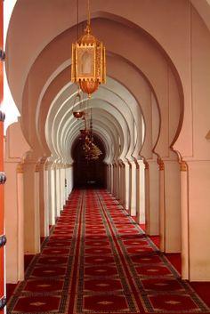 Inside of Koutoubia Mosque