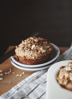 Love Foods: Oat + Banana Nut Muffins   Free People Blog