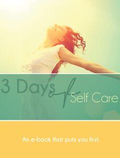 3 Days of Self Care e-book
