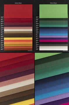 Nuancier de toile-tissu pour vos livres à couverture rigide Roman, Magazine, Craft Papers, Impressionism, Livres, Toile, Fabric, Magazines, Warehouse