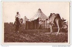 (Maroc) 832, Scènes, La Cigogne 2067, Tentes De Notables - Autres