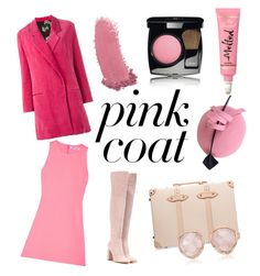 """It's Never Too Pink"" by tyaradelia ❤ liked on Polyvore featuring Ter Et Bantine, Elizabeth and James, Gianvito Rossi, Globe-Trotter, Gucci, Monica Vinader and Chanel"