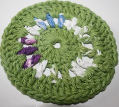 Ravelry: Wheel Coaster pattern by Melissa Green
