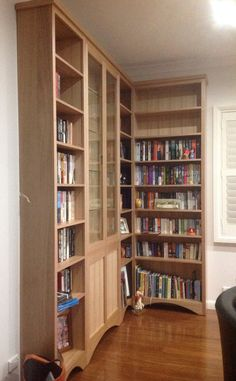 4 x section made to order shelf and display unit