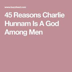 45 Reasons Charlie Hunnam Is A God Among Men