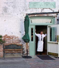 Celadon restaurant located in Napa, California