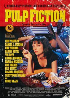 Pulp Fiction Uma Thurman, Uma Thurman Movies, John Travolta, John Malkovich, Pulp Fiction Film, Fiction Movies, Comedy Movies, Indie Movies, Cult Movies