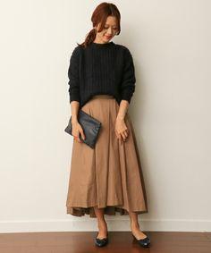 DOORS タックロングスカート(スカート)|URBAN RESEARCH DOORS WOME...(アーバンリサーチ ドアーズ ウィメンズ)のファッション通販 - ZOZOTOWN