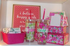 Lilly Pulitzer gift items