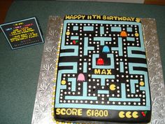 Pac Man on Cake Central