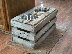 8 DIY Dog Feeding Stations - Eco Cool Dog Finds
