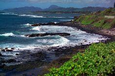 Kauai Beach IV by Dennis Begnoche - Photo taken of Beach North of Kapaa Kauai. Click on the image to enlarge.