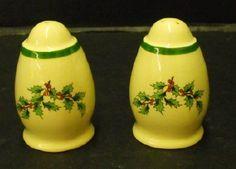 Spode Christmas Tree salt & pepper shakers