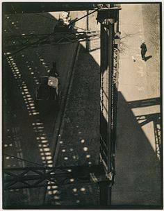 From the El, 1915 Paul Strand (American, 1890–1976) Platinum print