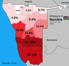 Afrikaans in Namibia